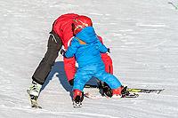 A lezione con la Scuola di sci di Pila