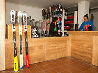 Il noleggio del maestri di sci